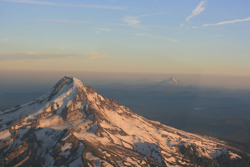 Mt. Hood and Jefferson