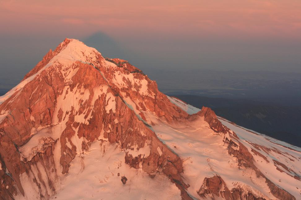 Sunset on Mt. Hood