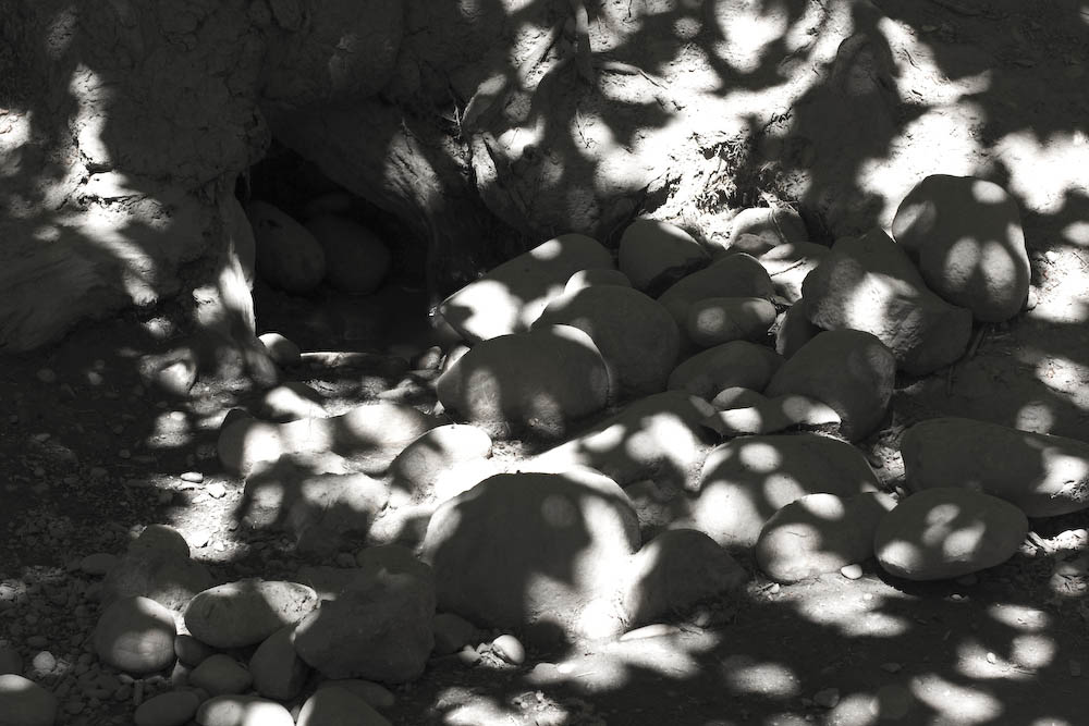 Rock shadows